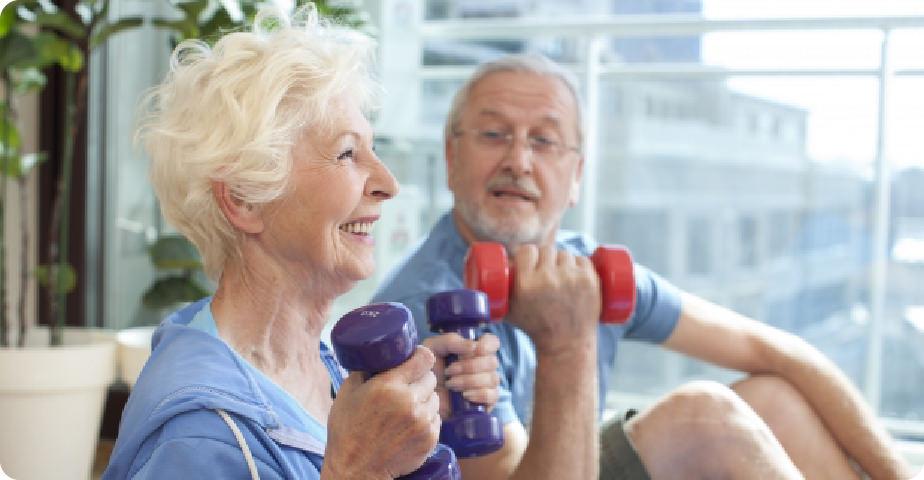 高齢者・低体力者、リハビリ対応トレーニング